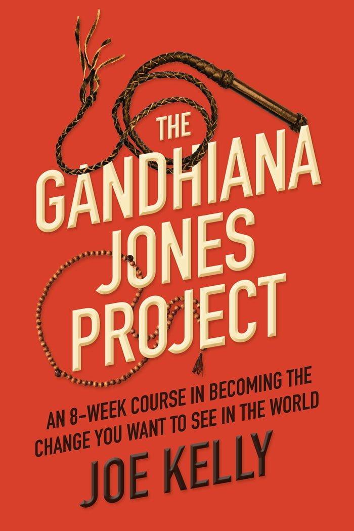 The Gandhiana Jones Project by Joe Kelly