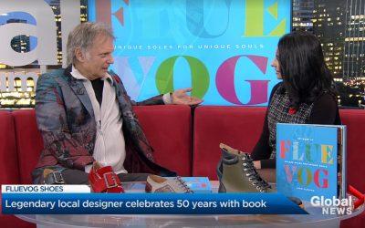 John Fluevog interviewed on Global News